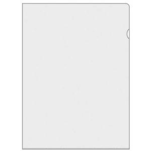 VELOFLEX Aktenhülle - DIN A4 - PVC - glasklar - 50...
