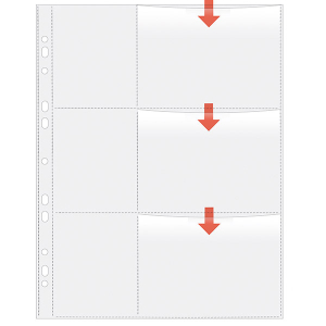 VELOFLEX Fotohüllen - DIN A4 - 9 x 13 cm quer - PP -...
