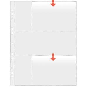 VELOFLEX Fotohüllen - DIN A4 - 10 x 15 cm quer - PP...