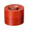 MAUL Briefklammernspender, Ø 7,3cm, 6cm hoch, rot
