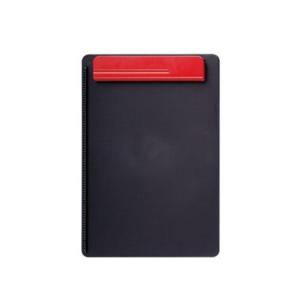 MAUL Klemmbrett A4, Kunststoff, schwarz/rot