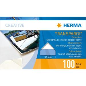 Herma 1302 Fotoecken - Transparol - extra groß -...