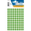 Herma 1835 VARIO Etiketten - Ø8 mm - Farbpunkt - dunkelgrün - 540 Stück