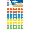 Herma 1851 VARIO Etiketten - Ø 12 mm - Farbpunkt - farbig sortiert - 240 Stück