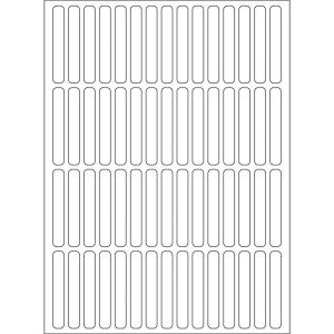 Herma 2300 Vielzwecketiketten - 5 x 35 mm - weiß -...