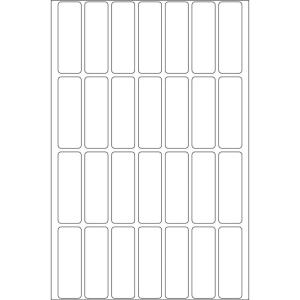 Herma 2360 Vielzwecketiketten - 13 x 40 mm - weiß -...