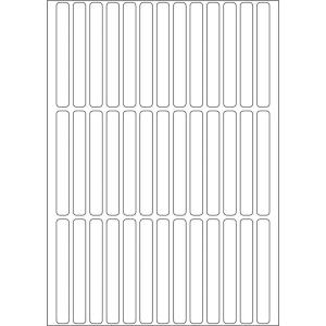 Herma 2530 Vielzwecketiketten - 6 x 50 mm - weiß -...