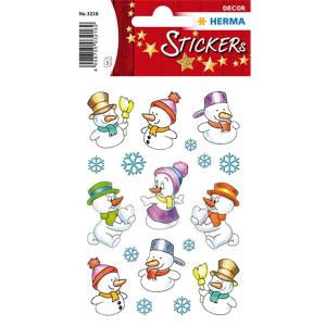 Herma 3216 DECOR Sticker - Schneemänner - 27 Sticker