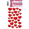 Herma 3254 MAGIC Sticker - Rote Herzen - 27 Sticker
