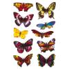 Herma 3349 DECOR Sticker - Schmetterlinge - beglimmert - 20 Sticker
