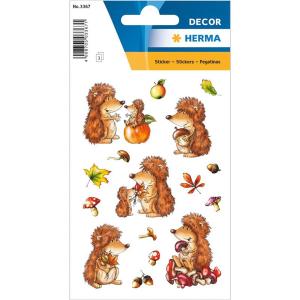 Herma 3367 DECOR Sticker - Igel - 48 Sticker