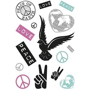 Herma 3384 DECOR Sticker - Peacezeichen