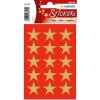 Herma 3414 DECOR Sticker - Sterne - fünfzackig - gold - Ø 22 mm - 45 Stück