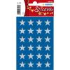 Herma 3418 DECOR Sticker - Sterne - fünfzackig - silber - Ø 15 mm - 72 Stück
