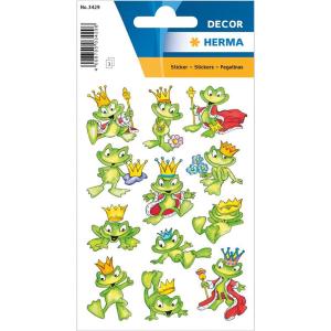 Herma 3429 DECOR Sticker - Froschkönig - 36 Sticker