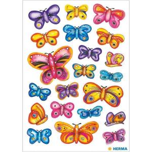 Herma 3441 DECOR Sticker - Schmetterlinge - 63 Sticker