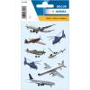 Herma 3442 DECOR Sticker - Flugzeuge - 24 Sticker