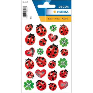 Herma 3529 DECOR Sticker - Marienkäfer - 48 Sticker