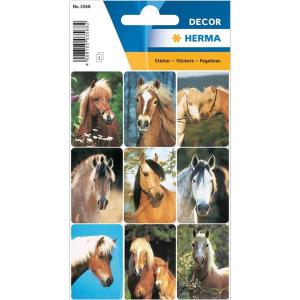 Herma 3568 DECOR Sticker - Pferdeköpfe - 27 Sticker