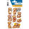 Herma 3578 DECOR Sticker - Bären mit Blumen - 24 Sticker