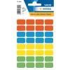 Herma 3631 VARIO Vielzwecketiketten - 12 x 19 mm - farbig sortiert - permanent haftend - 160 Stück