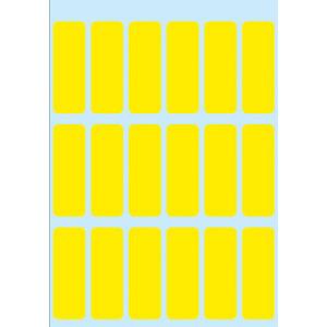 Herma 3651 VARIO Vielzwecketiketten - 12 x 34 mm - gelb - permanent haftend - 90 Stück