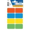 Herma 3681 VARIO Vielzwecketiketten - 26 x 40 mm - farbig sortiert - permanent haftend - 40 Stück