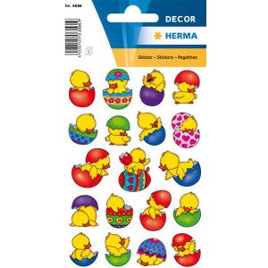 Herma 3686 DECOR Sticker - Küken im Ei - 57 Sticker