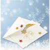 Herma 3726 MAGIC Sticker - Sterne - gold - glitzernd - 19 Stück
