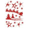 Herma 3734 MAGIC Sticker - Scherenschnitte - glitzernd - 18 Stück