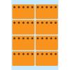 Herma 3774 HOME Tiefkühletiketten - Eiskristalle - orange - 26 x 40 mm - 48 Stück