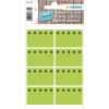 Herma 3775 HOME Tiefkühletiketten - Eiskristalle - grün - 26 x 40 mm - 48 Stück