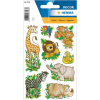 Herma 3793 DECOR Sticker - Dschungeltiere - 24 Sticker