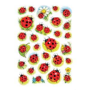Herma 3815 DECOR Sticker - Marienkäfer & Blume -...