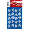Herma 3906 DECOR Sticker - Sterne - sechszackig - silber - Ø 21 mm - 60 Sticker