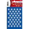 Herma 3922 DECOR Sticker - Sterne - sechszackig - silber - Ø 14 mm - 123 Sticker