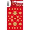Herma 3927 DECOR Sticker - Sterne - sechszackig - gold - 81 Sticker