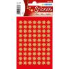 Herma 3933 DECOR Sticker - Sterne - achtzackig - gold - Ø 10 mm - 210 Sticker