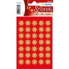 Herma 3935 DECOR Sticker - Sterne - achtzackig - gold - Ø 16 mm - 105 Sticker