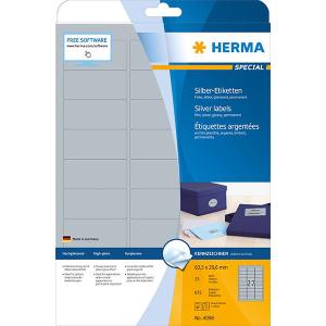 Herma 4098 SPECIAL Folienetiketten - DIN A4 - 63,5 x 29,6...