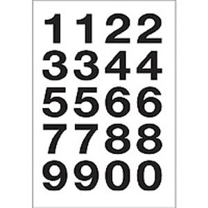 Herma 4136 VARIO Zahlen - 20 x 18 mm - 0 bis 9 -...