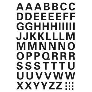 Herma 4158 VARIO Buchstaben - Ø 10 mm - A bis Z -...