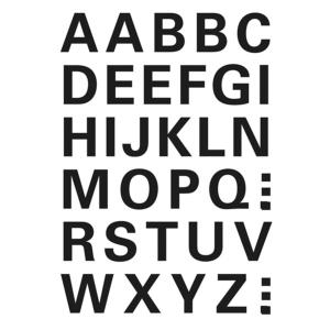 Herma 4163 VARIO Buchstaben - Ø 15 mm - A bis Z  -...