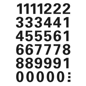 Herma 4164 VARIO Zahlen - Ø 15 mm - 0 bis 9  -...