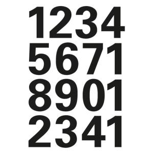 Herma 4168 VARIO Zahlen - Ø 25 mm - 0 bis 9 -...