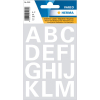 Herma 4169 VARIO Buchstaben - Ø 25 mm - A bis Z  - weiß - wetterfest - 30 Sticker