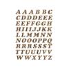 Herma 4192 VARIO Buchstaben - Ø 8 mm - A bis Z - gold - glitzernd - 61 Sticker