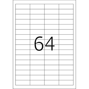 Herma 4226 SPECIAL Abdecketiketten - DIN A4 - 48,3 x 16,9...