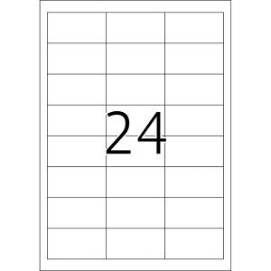 Herma 4227 SPECIAL Abdecketiketten - DIN A4 - 64,6 x 33,8...