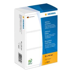 Herma 4311 Etikett - 95 x 48 mm - endlos